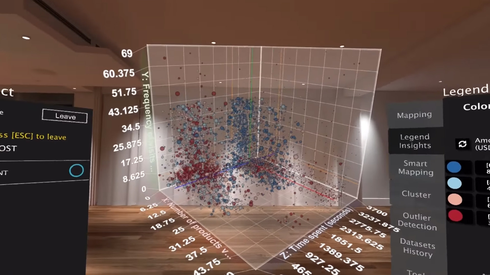 Big Data Visualization VR AR XR